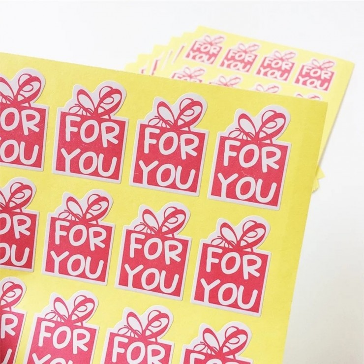 "Stickers ""For you"" 